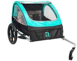 bicycle trailer double passenger