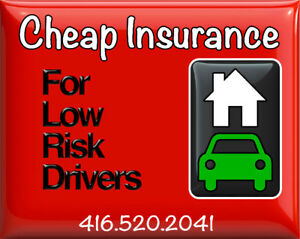 Cheap Home and Auto Insurance - 416.520.2041