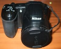 NIKON COOLPIX L830 CAMERA WITH CASE AND MORE FOR SALE!!