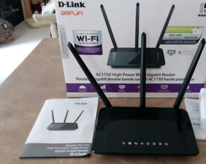 Reduced $10 D-Link A/C 1750 Dual Band WI-FI Router