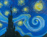 Moxies Painting Party: 'Starry Night', August 24