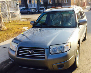 2007 Subaru Forester Limited VUS