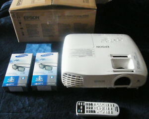 Epson 3D/1080p Projector package for Home Theater