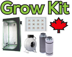 HPS HID LED Grow Lights — Hydroponic Grow Tent Kit—Carbon Filter