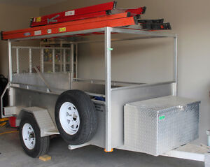 HEAVY DUTY ALUMINUM TRAILER