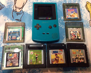 Gameboy Color Lot Nintendo Loony Toons Toy Story X Men