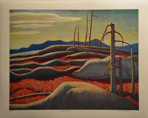 "Limited Edition ""Lake Superior"" by Lawren Harris London Ontario image 5"
