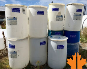 55 Gallon Water Drums