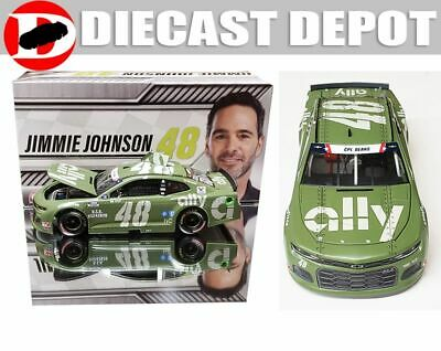 JIMMIE JOHNSON 2020 ALLY PATRIOTIC  1/24 ACTION