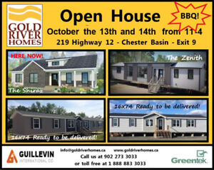 OPEN HOUSE - Gold River Homes - 5 new homes