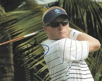 SIMON DYSON signed 8x10 GOLF PGA photo with COA