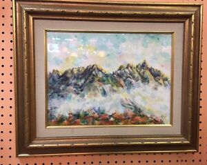 Korean Water Color Framed with glass