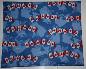 Cat Toy Crinkle mat Canada Flags, Kitten FERRET toy