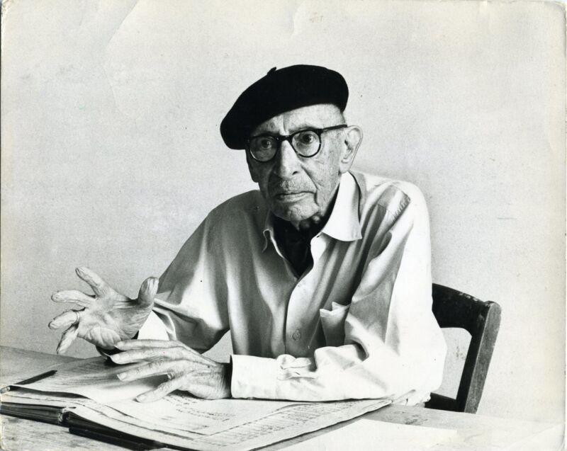 Igor STRAVINSKY (Composer): Original 1970 Photograph by Tony SNOWDON