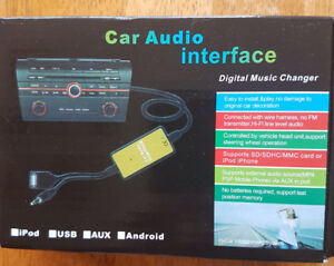 New Aux -Input-Mp3-CD Interface-Adapter For Honda Models