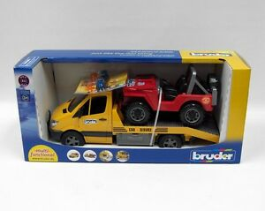Bruder toys mercedes benz sprinter wrecker car truck for Mercedes benz truck toys