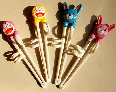Kids Easy Training Helper Chopsticks For Children BABY Designs Right - Chopsticks For Kids