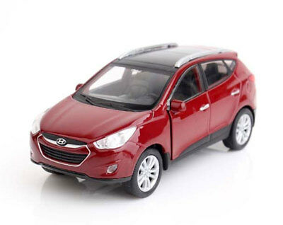 HYUNDAI Miniature Car TUCSON TL 1:38 Mini Display Diecast Model Scale  ix35-Remi