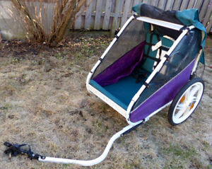 chariot remorque pour velo orby