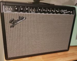 Fender 1965 deluxe reverb blackface reissue