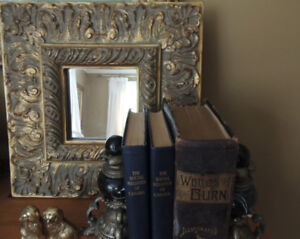 Gold Gilded Accent Mirror