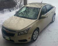 2012 Chevrolet Cruze LT. NEW SAFETY!!! GREAT WINTER TIRES!!!