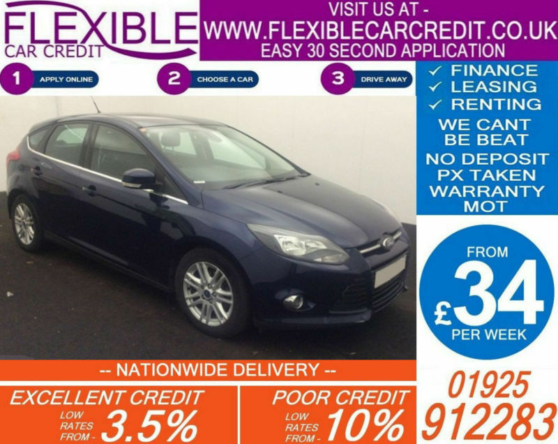 2013 FORD FOCUS 1.6 TDCI TITANIUM GOOD / BAD CREDIT CAR FINANCE AVAILABLE