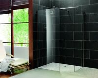 European wet room shower pans