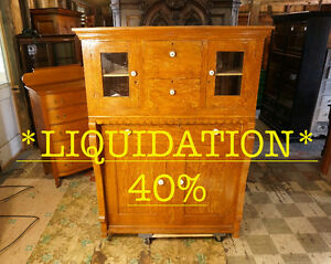 ARMOIRE / COMMODE À S *LIQUIDATION 40%* ANTIQUITÉS DESCHAMBAULT