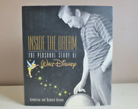 "Walt Disney ""Inside the Dream The Personal Story"" Hardcover 2001"
