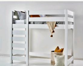 Ikea High sleeper with lenleys mattress