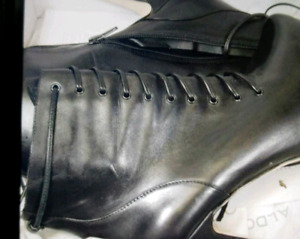 Leather new boots