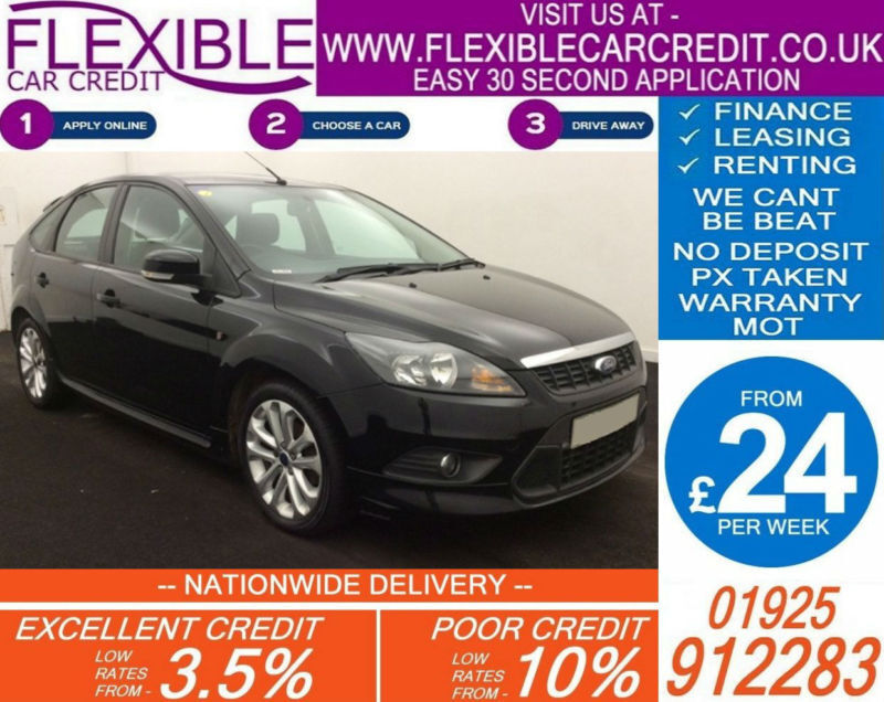 2010 FORD FOCUS 1.6 TDCI ZETEC S GOOD / BAD CREDIT CAR FINANCE AVAILABLE