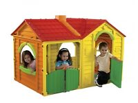 Little Tikes Garden Villa Double 2 room Playhouse Play Toy Wendy House Can Deliver Shutters Doors