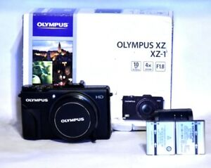 Olympus XZ-1 Camera with 2 Batteries