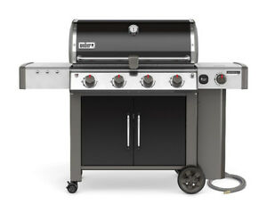 Weber Genesis II LX E-440 Natural Gas Grill (67014001) w/ Cover