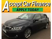 Lexus CT 200h 1.8 ( 134bhp ) CVT 2013MY Advance FROM £64 PER WEEK !