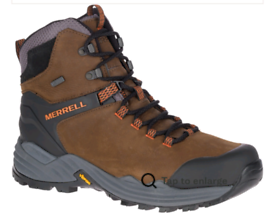 Merrell Phaserbound 2 Tall Waterproof Hiking Boots Leather Vibram Sole