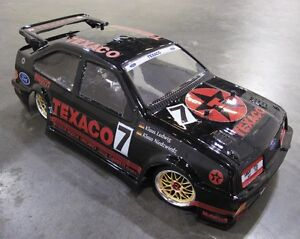 1/10 Classic Group A 1987 WTCC Ford Sierra RS500 RC Car Body with decal 190 mm