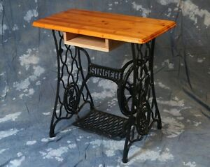 Vintage Singer Sewing Machine Table