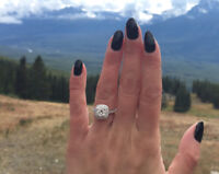 Lost engagement ring downtown Toronto