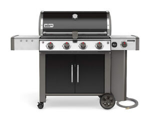 Natural Gas Weber Genesis ii LX E 440 BBQ with Vinyl Cover