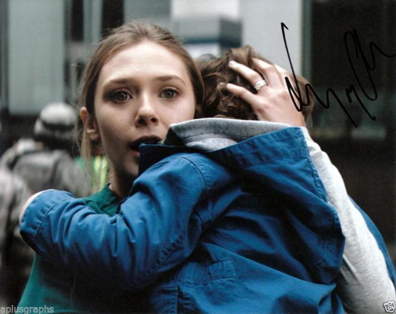 ELIZABETH OLSEN.. Godzilla's Elle Brody - SIGNED