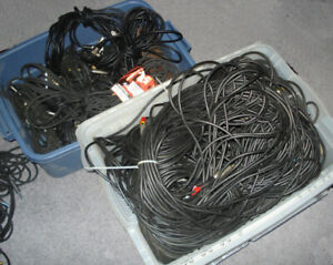 XLR Cables from 5 feet long up to 100 foot lengths