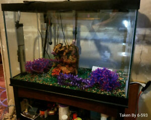 65 Gal Fish tank for sale