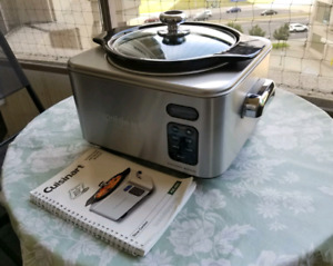 Cusinart Stainless Slow Cooker - 4qt Programmable