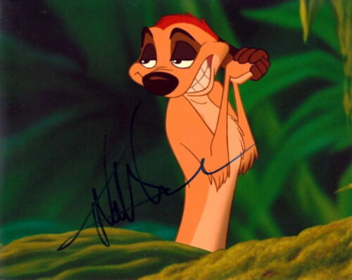 NATHAN LANE.. The Lion King (Disney) SIGNED