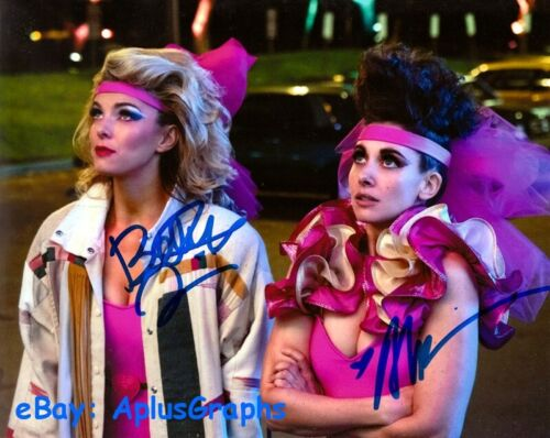 GLOW.. Alison Brie with Betty Gilpin - SIGNED