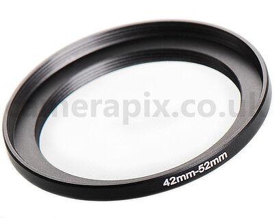 42-52mm 52-42mm Female to Female Double Lens Ring Adapter inner thread 52 42 mm