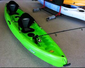 BRAND NEW NEREUS2 TANDEM KAYAK.  FREE PADDLES!  LIMITED SUPPLY